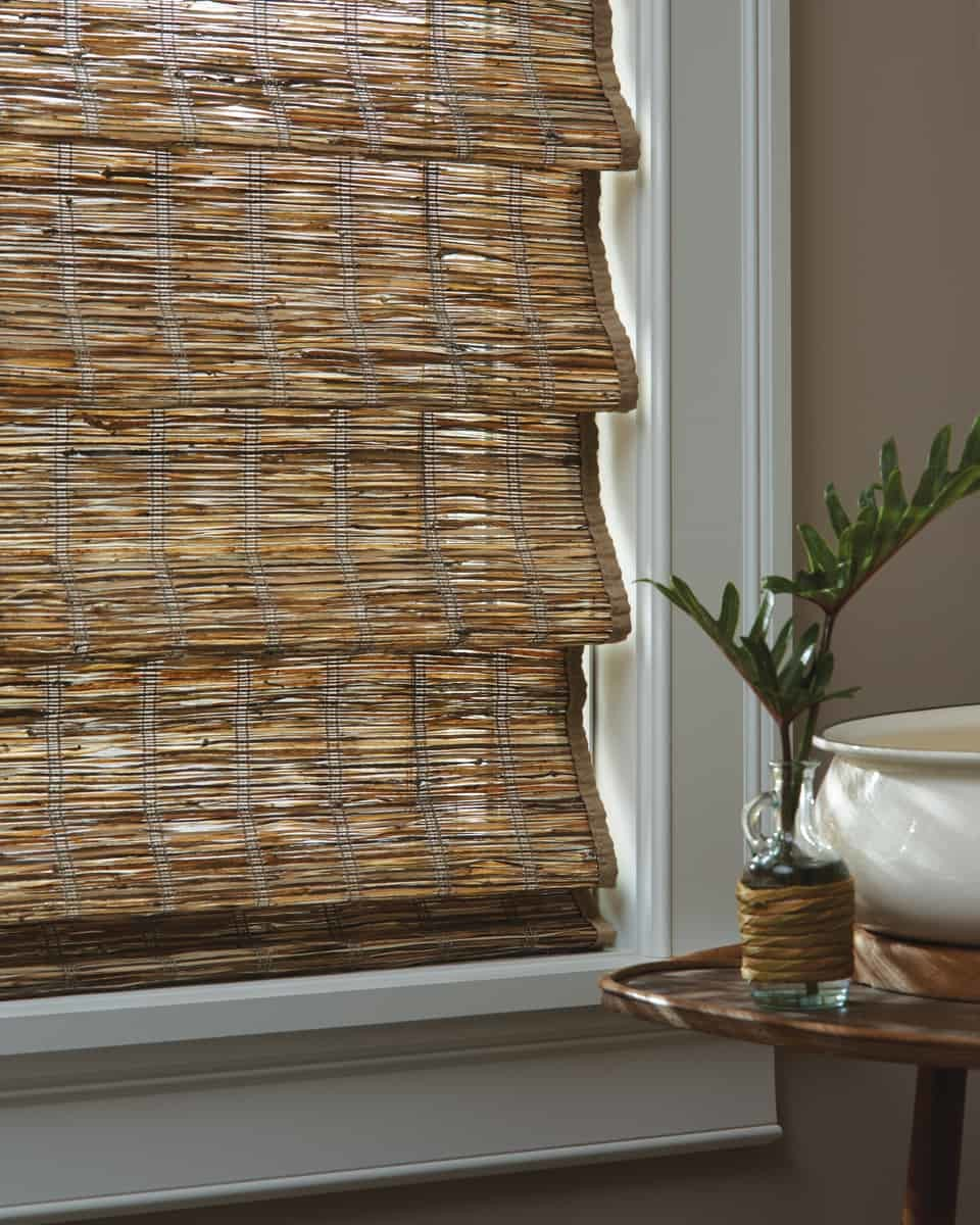 Provenance 174 Woven Wood Shades Slats Blinds