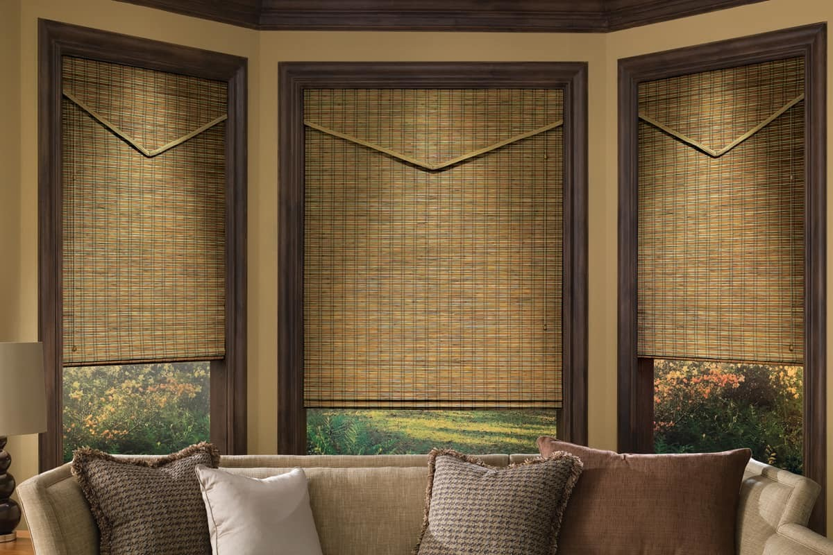 Kitchen Design Ideas 2013 Provenance 174 Woven Wood Shades Slats Blinds